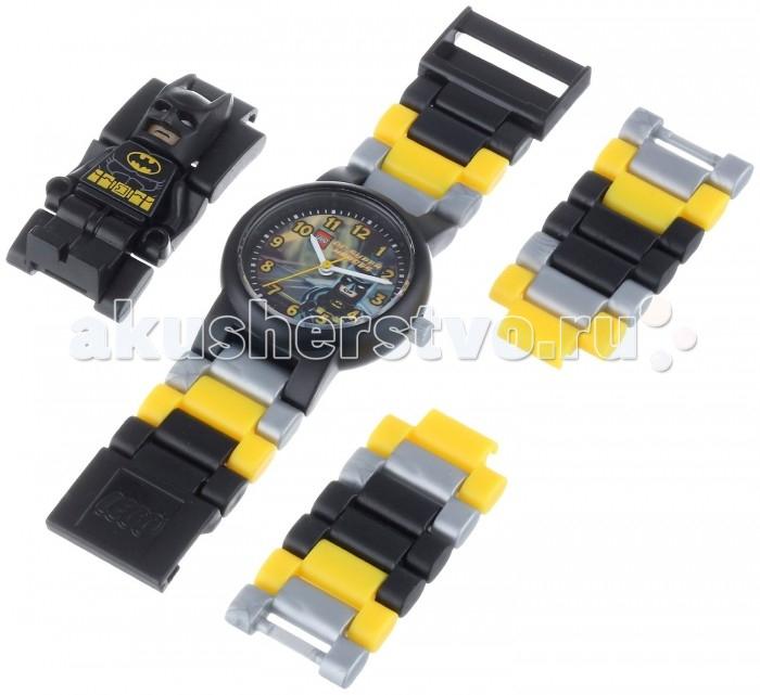 Конструктор Lego Наручные часы Super Heroes Batman с минифигуройНаручные часы Super Heroes Batman с минифигуройLego Наручные часы Super Heroes Batman с минифигурой - это необычные часы которые тебе обязательно понравятся. Они выполнены в черном цвете и украшены принтом с изображением любимого персонажа. С такими часами ты почувствуешь себя крутым героем, спасающим мир. Удобный разборный браслет, изготовленный из гипоаллергенных материалов, будет отлично сидеть на руке. А входящая в комплект фигурка Batman поможет разнообразить сценарии, которые ты придумаешь для игры с любым из конструкторов серии Lego Super Heroes.<br>