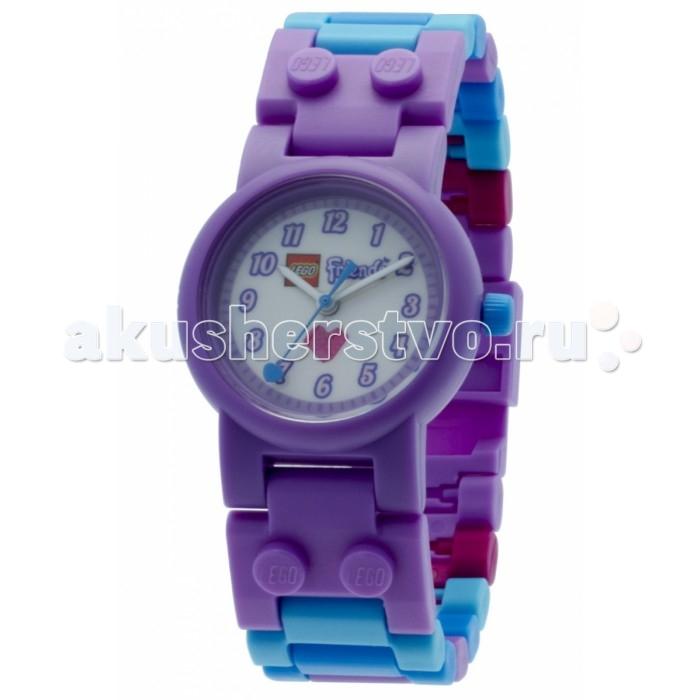 Конструктор Lego Наручные часы Friends Olivia с минифигуройНаручные часы Friends Olivia с минифигуройLego Наручные часы Friends Olivia с минифигурой - это необычные часы которые тебе обязательно понравятся. Хочешь выглядеть по-настоящему стильной и современной девчонкой? Позаботься об аксессуарах для себя. Выбирай наручные часы Olivia с минифигурой, выполненные в сине-сиреневой цветовой гамме и украшенные принтом с изображением Оливии. Ты сможешь сама собрать для них лего-ремешок, а входящая в комплект фигурка веселой подружки Оливии из любимой серии Lego Friends станет приятным дополнением. Играй с ней, добавив к любому из конструкторов серии, или просто всегда носи с собой как небольшой талисман.<br>
