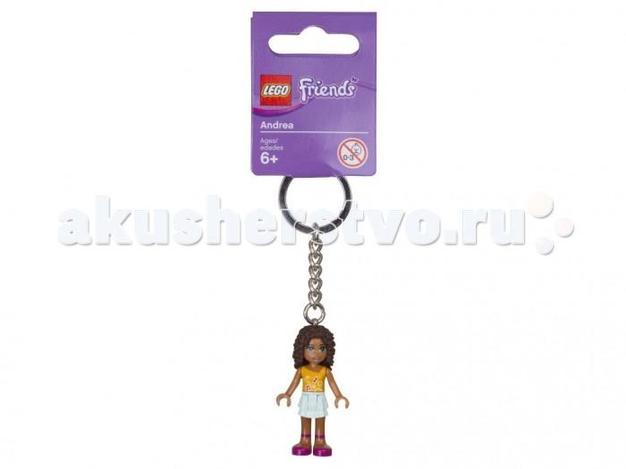 Lego Lego Брелок для ключей Friends Андреа lego lego брелок фонарик для ключей friends андрея