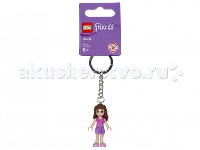 Lego Lego Брелок для ключей Friends Оливиа брелоки lego брелок фонарик для ключей lego friends emma
