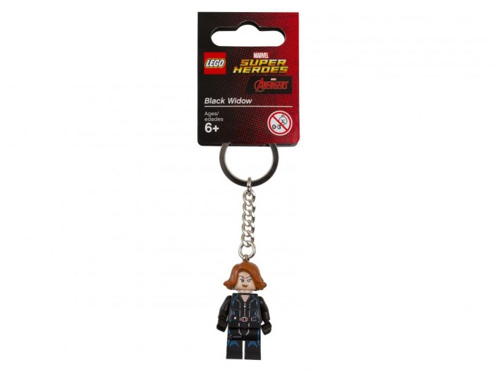 Lego Lego Брелок для ключей Super Heroes Черная вдова maker and sons брелок для ключей