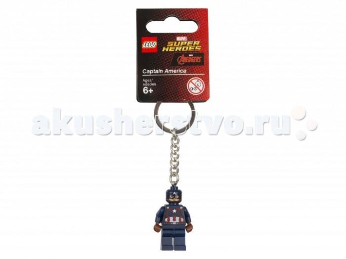 Lego Lego Брелок для ключей Super Heroes Капитан Америка prada брелок для ключей