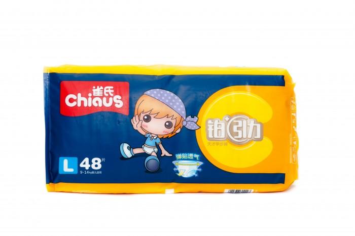 Гигиена и здоровье , Подгузники Chiaus Трусики-подгузники Двойная защита L (9-14 кг) 48 шт. арт: 291052 -  Подгузники
