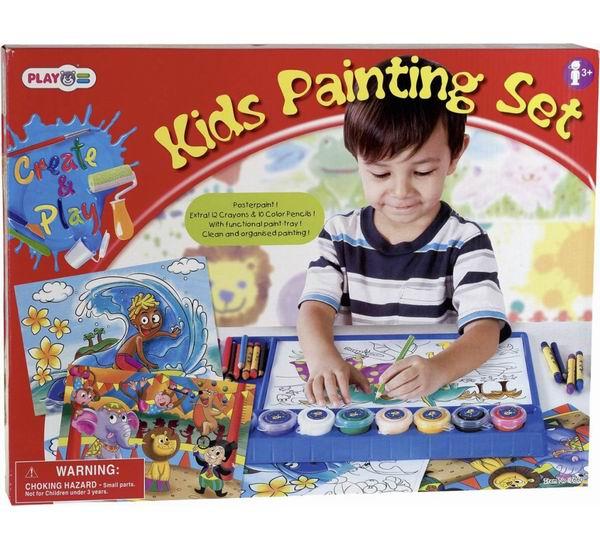 Раскраски Playgo Набор для раскрашивания набор для рисования с палитрой 7652 playgo