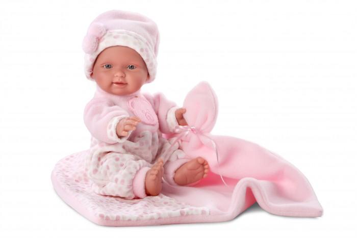 Llorens Кукла Бэбита Роза 26 см с одеяломКукла Бэбита Роза 26 см с одеяломLlorens Кукла Бэбита Роза 26 см с одеялом - играть с малышкой будет не только интересно, но и увлекательно, ведь у кукол можно разглядеть не только мимику лица, но и реалистичные складочки на теле, которые анатомически точно передают внешние особенности настоящих младенцев.  При изготовлении кукол Llorens используются только сертифицированные материалы, безопасные и не вызывающие аллергических реакций. Волосы у кукол-пупсов прорисованные; ручки и ножки двигаются.<br>