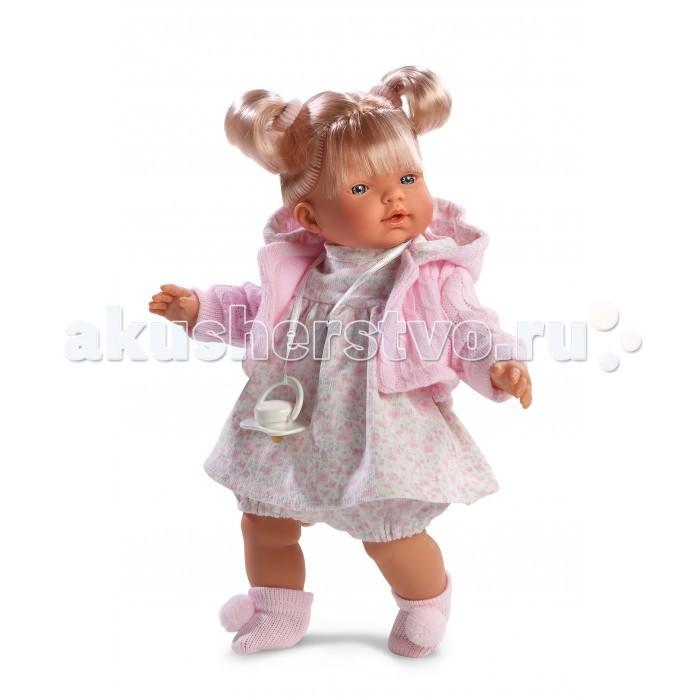 Llorens Кукла Хейди 33 смКукла Хейди 33 смLlorens Кукла Хейди 33 см - играть с малышкой будет не только интересно, но и увлекательно, ведь у кукол можно разглядеть не только мимику лица, но и реалистичные складочки на ручках и ножках, которые анатомически точно передают внешние особенности настоящих малышей.  Кукла одета в яркий и стильный наряд!  При изготовлении кукол Llorens используются только сертифицированные материалы, безопасные и не вызывающие аллергических реакций. Тело куклы является мягконабивным, ее ножки и ручки можно двигать, а голову поворачивать в разные стороны.<br>