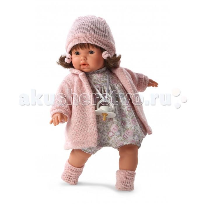 Llorens Кукла Айсель 33 смКукла Айсель 33 смLlorens Кукла Айсель 33 см - играть с малышкой будет не только интересно, но и увлекательно, ведь у кукол можно разглядеть не только мимику лица, но и реалистичные складочки на ручках и ножках, которые анатомически точно передают внешние особенности настоящих малышей.  Кукла одета в яркий и стильный наряд!  При изготовлении кукол Llorens используются только сертифицированные материалы, безопасные и не вызывающие аллергических реакций. Тело куклы является мягконабивным, ее ножки и ручки можно двигать, а голову поворачивать в разные стороны.<br>