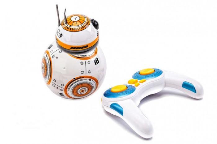 Bradex Радиоуправляемый робот Звездный воинРадиоуправляемый робот Звездный воинBradex Радиоуправляемый робот Звездный воин станет одной из любимых игрушек Вашего малыша!   Умный робот в виде популярного киноперсонажа приобщит любознательного карапуза к миру высоких технологий, а также поможет привить ему интерес к науке и технике.  Обаятельный робот выполняет команды, заданные с помощью специального пульта: игрушка может имитировать танец, воспроизводить звуки из культового фильма или же просто кататься.  Никаких проводов и сложных схем: робот управляется дистанционно на расстоянии до 30 м  Вставьте в пульт батарейки. Поставьте тело на твердую поверхность и присоедините к нему голову робота. Голова прикрепится автоматически благодаря мощному внутреннему магниту. Управляйте роботом с помощью пульта управления. Избегайте падений робота с большой высоты.   Особенности: 2.4G система дистанционного управления  Магнитная подвесная конструкция  Автономный обходной механизм  Светочувствительный шар  Иммитация танца  Мультиугловая форма  Иммитация звуков фильма  Время работы батареи 30 минут  Отдаленный диапазон 30 м  В комплекте: робот пульт управления инструкция зарядное устройство батарейки - 6 шт Размер:15х11.5х11.5 см<br>