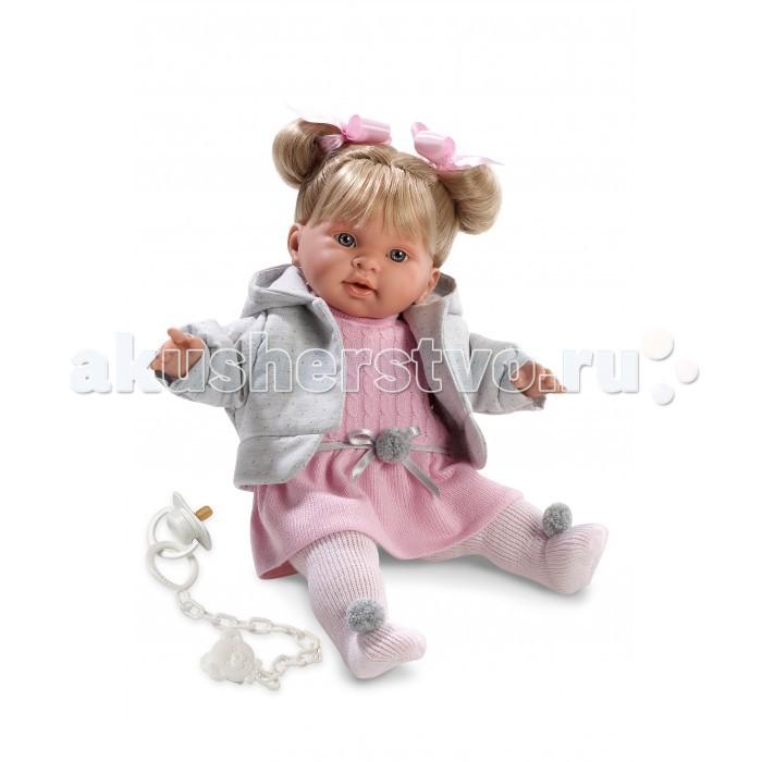 Llorens Кукла Пиппа 42 смКукла Пиппа 42 смLlorens Кукла Пиппа 42 см - играть с малышкой будет не только интересно, но и увлекательно, ведь у кукол можно разглядеть не только мимику лица, но и реалистичные складочки на ручках и ножках, которые анатомически точно передают внешние особенности настоящих малышей.  Кукла одета в яркий и стильный наряд!  При изготовлении кукол Llorens используются только сертифицированные материалы, безопасные и не вызывающие аллергических реакций. Тело куклы является мягконабивным, ее ножки и ручки можно двигать, а голову поворачивать в разные стороны.<br>