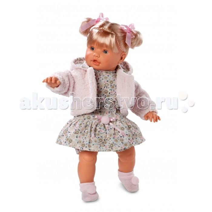 Llorens Кукла 48 см L 48228Кукла 48 см L 48228Llorens Кукла 48 см L 48228 - играть с малышкой будет не только интересно, но и увлекательно, ведь у кукол можно разглядеть не только мимику лица, но и реалистичные складочки на ручках и ножках, которые анатомически точно передают внешние особенности настоящих малышей.  Кукла одета в яркий и стильный наряд!  При изготовлении кукол Llorens используются только сертифицированные материалы, безопасные и не вызывающие аллергических реакций. Тело куклы является мягконабивным, ее ножки и ручки можно двигать, а голову поворачивать в разные стороны.<br>