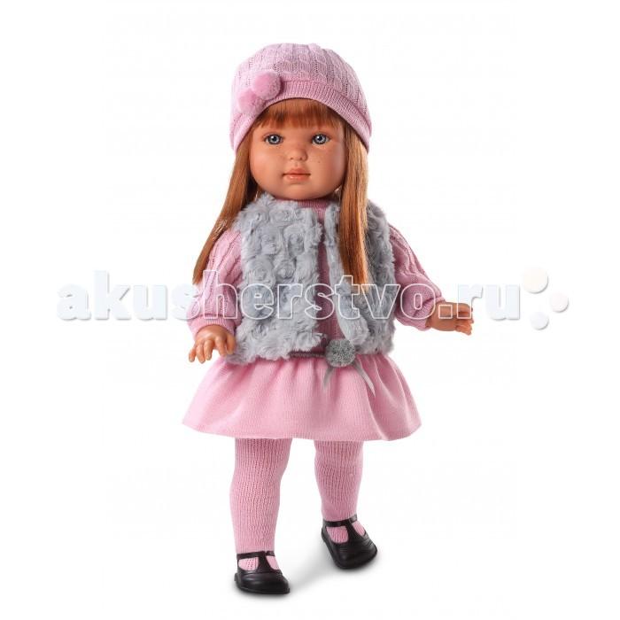 Куклы и одежда для кукол Llorens Кукла Лаура 45 см куклы и одежда для кукол defa lucy кукла с аксессуарами 26 см