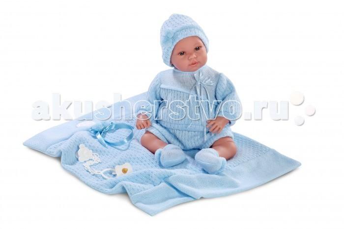 Llorens Кукла младенец 36 смКукла младенец 36 смLlorens Кукла младенец 36 см - играть с малышкой будет не только интересно, но и увлекательно, ведь у кукол можно разглядеть не только мимику лица, но и реалистичные складочки на ручках и ножках, которые анатомически точно передают внешние особенности настоящих малышей.  Кукла одета в яркий и стильный наряд!  При изготовлении кукол Llorens используются только сертифицированные материалы, безопасные и не вызывающие аллергических реакций.<br>
