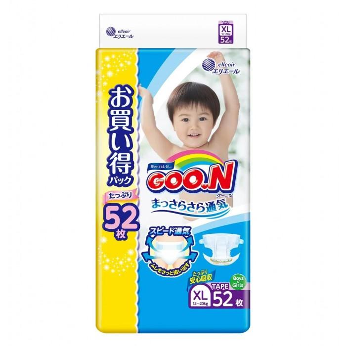 Гигиена и здоровье , Подгузники GooN Подгузники XL (12-20 кг) 52 шт. арт: 292108 -  Подгузники