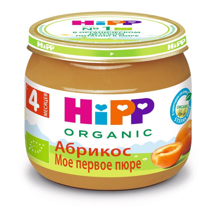 Пюре Hipp Пюре Абрикос с 4 мес., 80 г hipp пюре hipp моё первое пюре абрикос с 4 мес 80 г