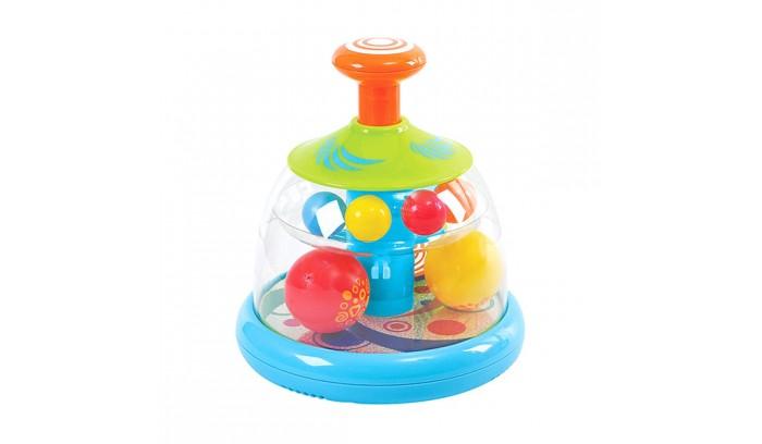 Развивающая игрушка Playgo Юла с шарамиЮла с шарамиРазвивающая игрушка Playgo Юла с шарами. Такая игрушка всегда нравилась детям, поэтому популярность юлы только растет.Дизайнеры придумывают разные проекты игрушек, чтобы привлечь внимание самых маленьких детей. Игрушка вызывает желание двигаться и самостоятельно крутить юлу. Удобная ручка, разноцветный корпус игрушки вызывают улыбку и как следствие - хорошее настроение у ребенка.<br>