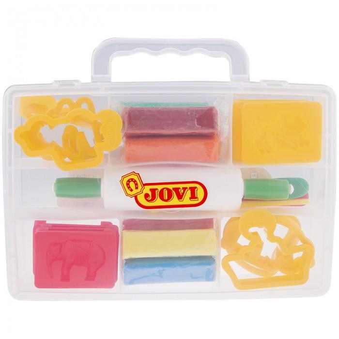Творчество и хобби , Всё для лепки Jovi Пластилин 8 цветов 200 г в чемодане арт: 292756 -  Всё для лепки