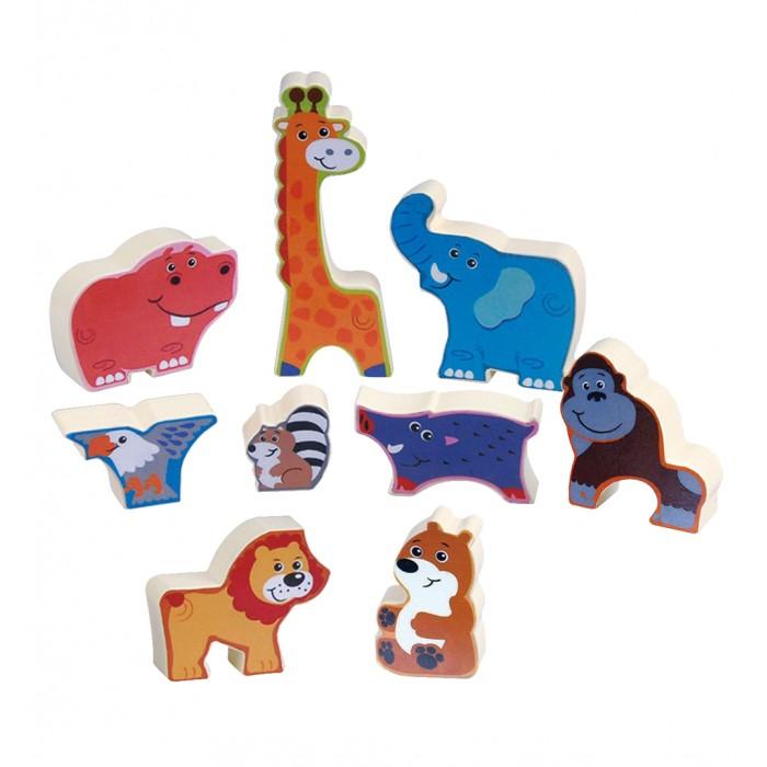 Пазлы Playgo Пазл-головоломка Животные сафари развивающие игрушки playgo сафари парк