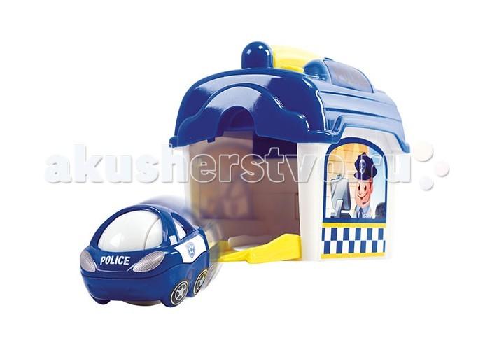 Игровые наборы Playgo Игровой набор Полицейский участок с машинкой ролевые игры playgo игровой набор для приготовления хот догов делюкс