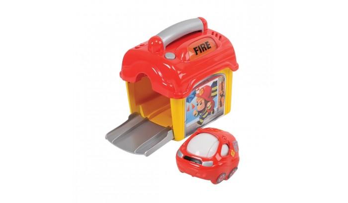 Игровые наборы Playgo Игровой набор Пожарная станция с машинкой камаз транспортер с доп машинкой