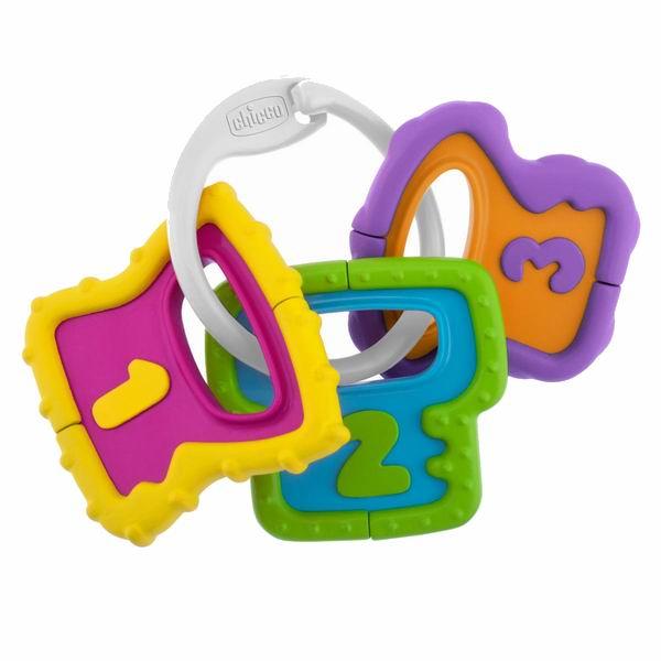 Погремушки Chicco Ключики игрушка музыкальная chicco утёнок 6995 3