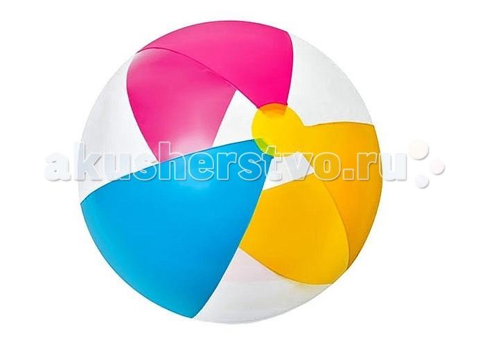 Мячики и прыгуны Intex Надувной мяч 61 см дорожка на стол apolena olive fest 140 40 см