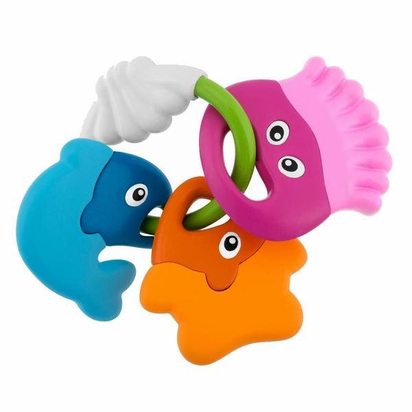 Погремушки Chicco Морские животные силиконовая форма животные и рыбки