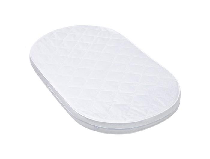 Матрас Седьмое небо Овальный для кроватки 6 в 1 Принц классик 72х126х7 смОвальный для кроватки 6 в 1 Принц классик 72х126х7 смСедьмое небо Матрас Овальный для кроватки 6 в 1 Принц классик 72х126х7 см подходит для кроватей Merry Happy.  Особенности и преимущества матрасика: Тип матраса: беспружинный Жесткость: разная жесткость сторон (двухсезонный) Жесткость: сторона А умеренно жесткий Сторона А: кокос Основа: ортофайбер Размер:72 x 126 x 7 см Съемный чехолстеганный жаккард<br>