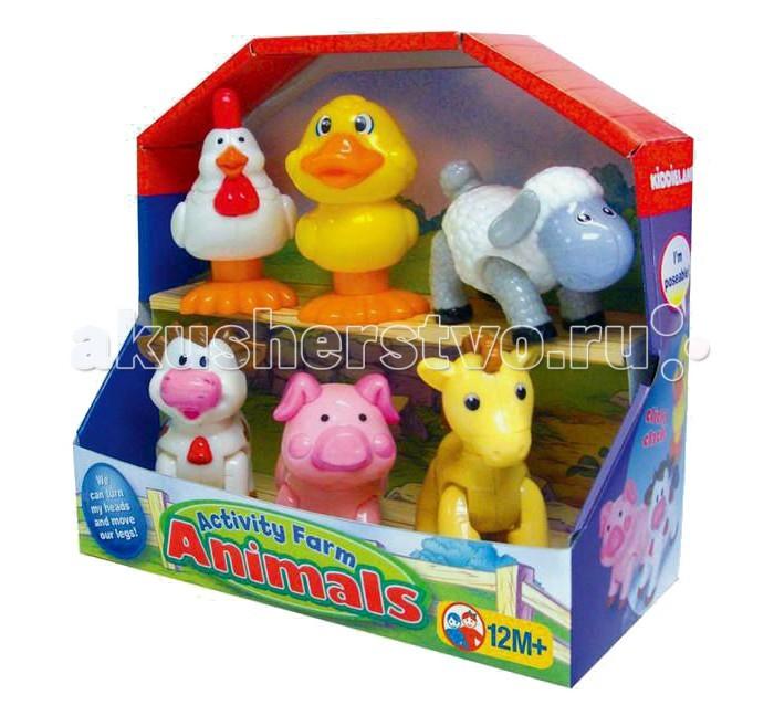 Развивающие игрушки Kiddieland Домашние животные