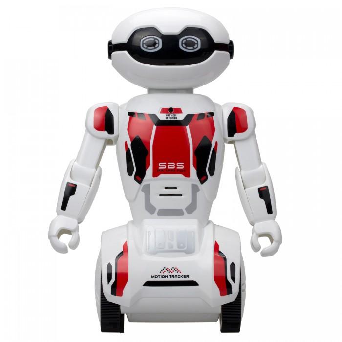 Интерактивная игрушка Silverlit Робот МакроботРобот МакроботSilverlit Робот Макробот – это уникальная игрушка, которая станет отличным другом для Вашего малыша.  Особенности:  Данная модель робота имеет более 15 различных функций, среди которых: память маршрута, функция следования, охраны, реакция на хлопки, возможность записи и воспроизведения голоса Бот балансируется всего на двух колесах Играя с роботом, ребенок учится разрабатывать стратегию управления и планирования действий, ведь ему можно задать до 50 команд вперед. Также во время игры ребенок учится работать в режиме многозадачности. У него тренируется наблюдательность и внимательность У игрушки имеются специальные сенсоры, позволяющие избегать препятствий. Кроме того, он может взаимодействовать с другими роботами Управление роботом осуществляется с помощью специального приложения для телефона на iOS & Android или пульта, поставляемого в комплекте Все боты Silverlit изготовлены с учетом технологий безопасности для ребенка. При этом применяется исключительно гипоаллергенный и прочный пластик Комплектация:  робот  пульт управления<br>