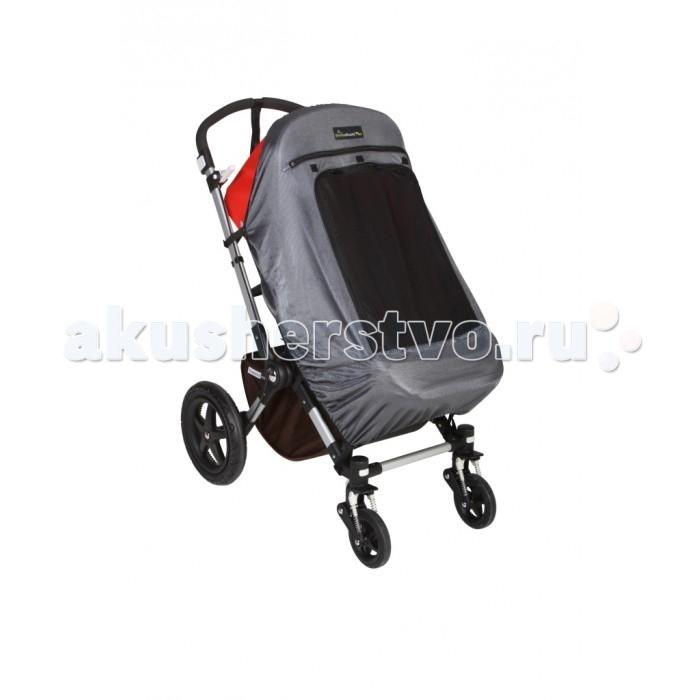 SnoozeShade Универсальная защитная шторка для детских колясок Классик Плюс ДелюксУниверсальная защитная шторка для детских колясок Классик Плюс ДелюксSnoozeShade Универсальная защитная шторка для детских колясок Классик Плюс Делюкс  SnoozeShade® «Классик Плюс» Делюкс - это универсальная защитная шторка для детских колясок. Она была изобретена в Великобритании специально, чтобы детки могли крепко спать в своих колясках во время прогулки или поездки.  Это простое и элегантное решение проблемы сна ребенка вдали от дома. На прогулке или в дороге, в магазине или на пикнике, шторки на коляску Снузшейд мгновенно создадут малышу уютное и спокойное гнездышко для сна. Снузшейд защищает от солнца, непогоды, насекомых и взглядов прохожих. Ребенок долго и спокойно спит, а Вы спокойно занимаетесь своими делами. Что может быть чудесней!  Шторка SnoozeShade® «Классик Плюс» Делюкс –  это просто, безопасно и красиво. Вам больше не придется завешивать коляску одеждой или одеялом во время детского сна. Шторка пригодится Вам и на прогулке, и на празднике, и в гостях и во время поездки.   Особенности шторок SnoozeShade Классик Плюс Делюкс:  • Одинаково хорошо подходят для колясок всех распространенных моделей: классической, коляски-трансформера, прогулочной и коляски-трости. До сих пор мы не нашли коляску, к которой эта шторка не подошла.  Благодаря увеличенному размеру отлично подойдет для больших колясок, предназначенных для деток 3-4 лет. • Цвет – благородный серебристый серый. Выглядят великолепно и подходят к дизайну современных колясок. • 2 слоя специальной дышащей ткани. Верхний серебристый слой отражает свет и излишек солнечного тепла (задерживает 94% света). Нижний темный слой блокирует ультрафиолетовые лучи (уровень солнцезащитного фактора составляет UPF 40 +). • Симпатичная эмблема, со спящим малышом даст понять окружающим, что малыш спит, и его не стоит беспокоить. • Специальные надежные и безопасные крепления—единственные крепления на рынке, сертифицированные по стандартам б