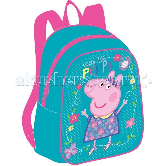 Сумки для детей Свинка Пеппа (Peppa Pig) Рюкзачок дошкольный малый 32041 сумки для детей свинка пеппа peppa pig рюкзачок малый утка