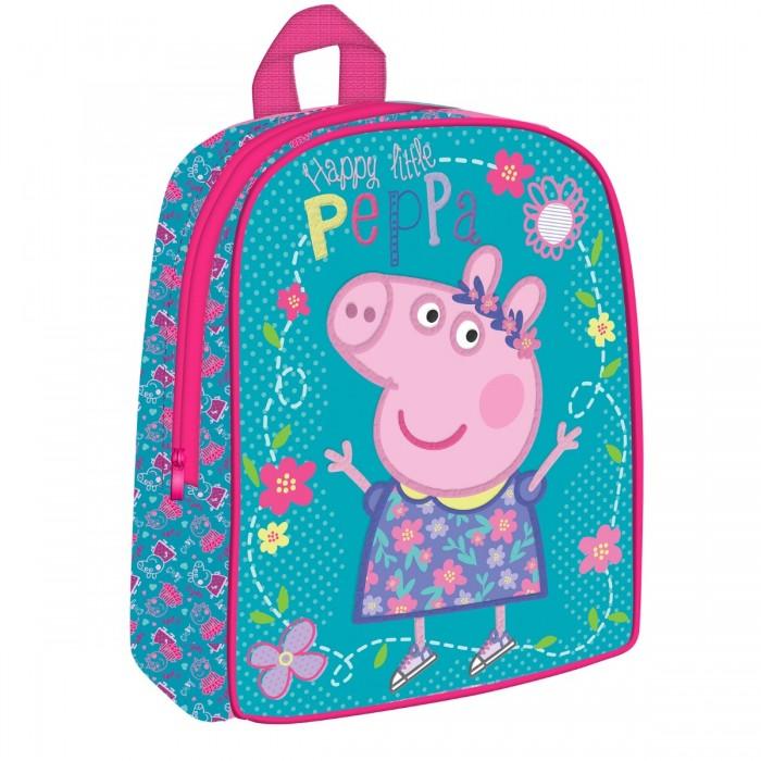 Сумки для детей Свинка Пеппа (Peppa Pig) Рюкзачок дошкольный средний 32045 рюкзачок увеличенный свинка пеппа peppa pig