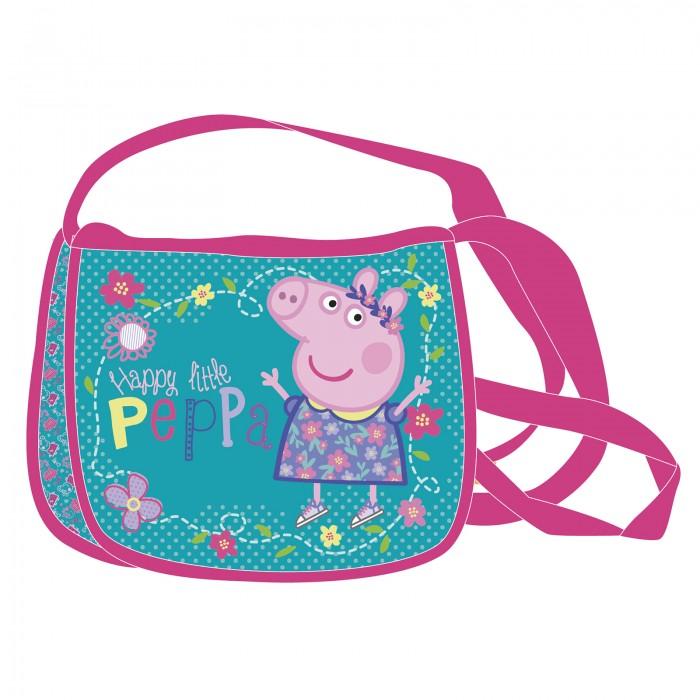Сумки для детей Свинка Пеппа (Peppa Pig) Сумочка наплечная пеппа пиг 29624 мяг игр ребекка с морковкой 20 см