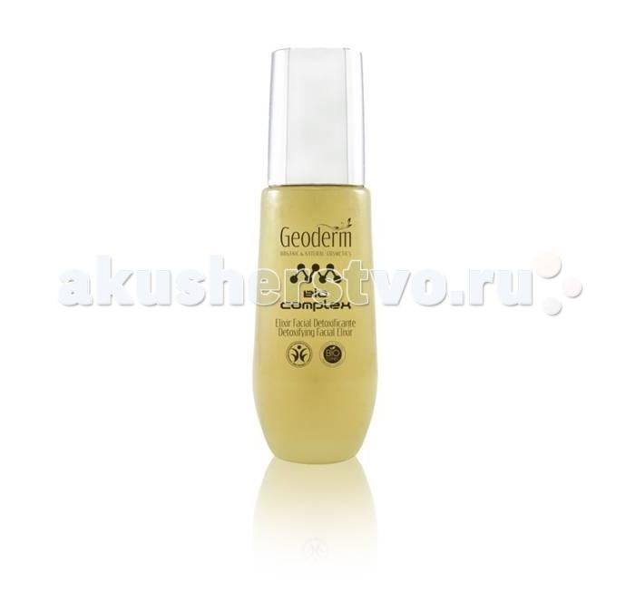 Geoderm Детокс-эликсир для лица Для жирной и комбинированной кожиДетокс-эликсир для лица Для жирной и комбинированной кожиGeoderm Детокс-эликсир для лица Для жирной и комбинированной кожи  – это ухаживающая сыворотка, предназначенная для ежедневного увлажнения и питания жирной и комбинированной кожи. Благодаря легкой текстуре, средство быстро впитывается, не оставляя липких следов и жирного блеска. Компоненты биологического происхождения обеспечивают максимальный ухаживающий эффект, не вызывая аллергических реакций.  Состав: масло сладкого миндаля содержит большое количество витаминов А и Е, способствующих полноценному увлажнению дермы в течение дня, а также обеспечивающих мощную антиоксидантную защиту эпителия; нейтрализует вредное воздействие агрессивных внешних факторов и защищает от атак свободных радикалов, регулирует деятельность сальных желез масло плодов шиповника содержит поли- и мононенасыщенные жирные кислоты, являющиеся строительным материалом для клеток эпителия, укрепляет структуру кожного покрова, повышает его прочность и эластичность, способствует быстрой регенерации и заживлению ран масло дамасской розы хорошо удерживает влагу в тканях эпидермиса, препятствует ее испарению, смягчает и питает кожу, эффективно борется с проявлениями купероза («сосудистые звездочки»), уменьшает количество и выраженность мимических морщин, укрепляет тургор дермы масло календулы обладает антимикробными и антисептическими свойствами, способствует быстрой регенерации и заживлению кожного покрова, отлично смягчает огрубевшую кожу, делает ее бархатистой, гладкой и приятной на ощупь Применение: Небольшое количество эликсира нанести на хорошо очищенную дерму лица, шея и зоны декольте. Легкими массирующими движениями распределить препарат, дождаться полного впитывания. После этого можно переходить к нанесению крема или других ухаживающих средств. Использовать сыворотку необходимо один-два раза в день.  Действие: Сыворотка насыщает кожу витаминами, минералами и питательными элем