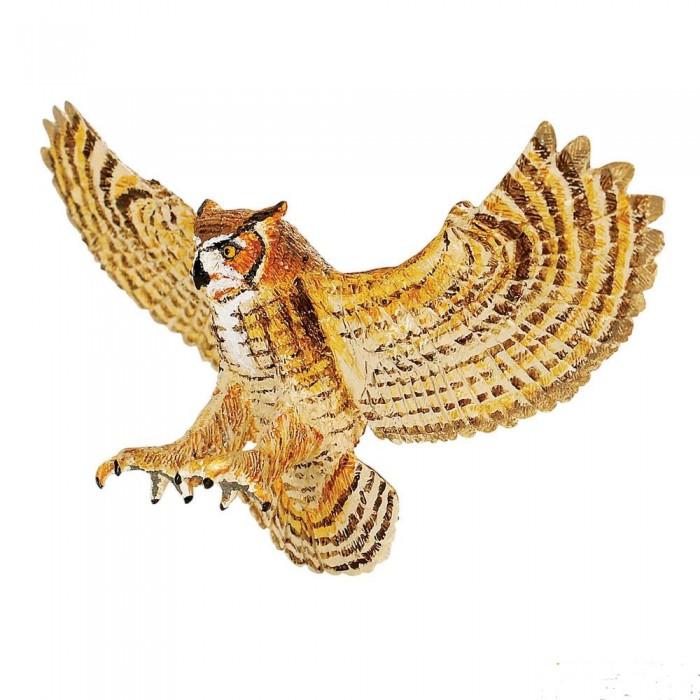 Игровые фигурки Safari Ltd. Фигурка Большая рогатая сова ingaart 43 037 фигурка сова бронза о бали