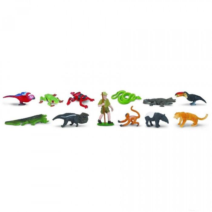 цена Игровые наборы Safari Ltd. Набор Животные влажных тропических лесов 11 шт. онлайн в 2017 году