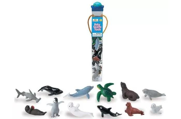 Игровые наборы Safari Ltd. Набор Детеныши обитателей моря 12 шт., Игровые наборы - артикул:294529
