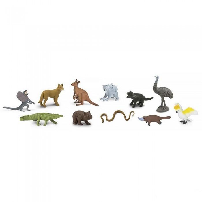 цена Игровые наборы Safari Ltd. Набор Животные Австралии 11шт. онлайн в 2017 году