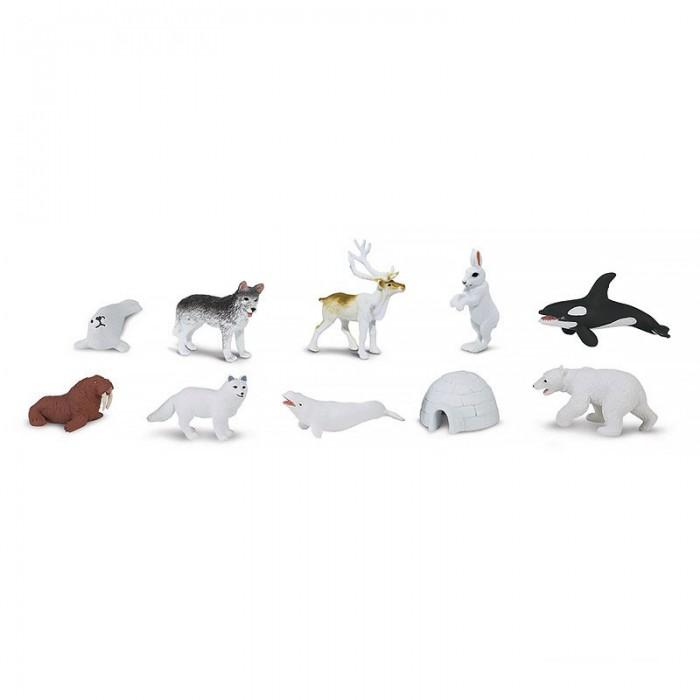 цена Игровые наборы Safari Ltd. Набор Животные Арктики 10 шт. онлайн в 2017 году