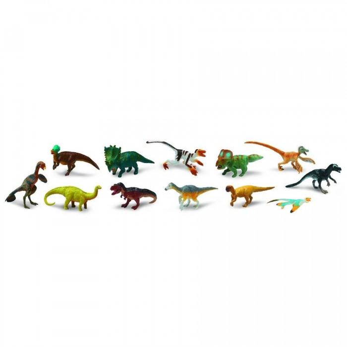 Игровые наборы Safari Ltd. Набор Динозавры 12 шт. игровые фигурки safari ltd набор фигурок лягушки 72 шт