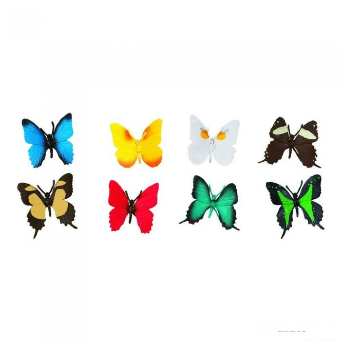 Игровые наборы Safari Ltd. Набор Бабочки 7 шт., Игровые наборы - артикул:294571