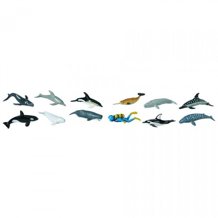 Игровые наборы Safari Ltd. Набор Киты и дельфины 11 шт., Игровые наборы - артикул:294586