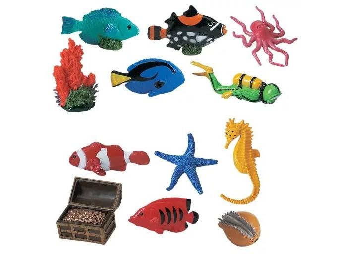 Игровые наборы Safari Ltd. Набор Коралловый риф 11 шт., Игровые наборы - артикул:294616