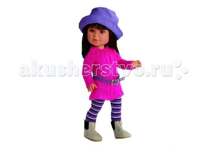 Куклы и одежда для кукол Vestida de Azul Паулина брюнетка с челкой Весна Токио