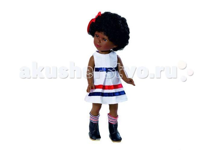 Куклы и одежда для кукол Vestida de Azul Паулина африканка Весна Морской стиль