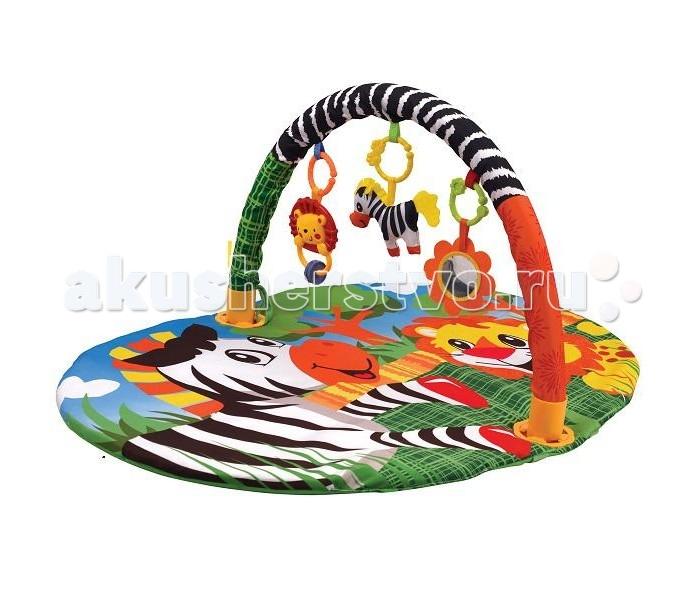 Развивающий коврик Ути Пути детский с дугой Мадагаскардетский с дугой МадагаскарУти Пути Коврик детский развивающий с дугой Мадагаскар - современным родителям известно, что развивать ребенка нужно с первых лет жизни. Именно поэтому все большую популярность среди современных мам и пап завоевывают детские развивающие коврики.  Они позволяют не только увлечь ребенка интересной игрой, но и развить моторику, учат детей различать формы и цвета и выполняют множество других функций. Детские коврики помогают создать уникальную среду, в которой ребенок может веселиться и развиваться.<br>