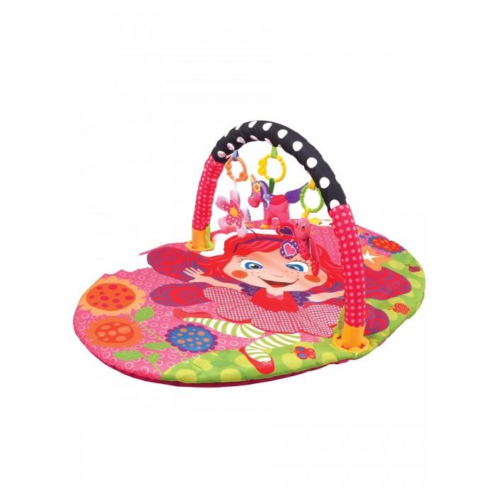 Развивающий коврик Ути Пути детский с дугой Цветочная принцесса