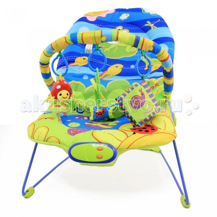 Ути Пути Шезлонг детский Счастливый лягушонок