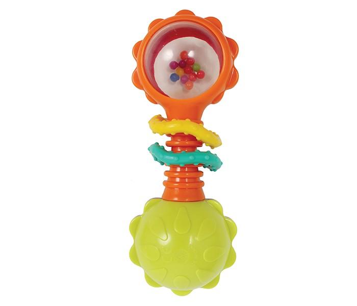 Погремушки Playgro Веселые зверята 4184183 луч трафарет прорезной веселые зверята цвет желтый