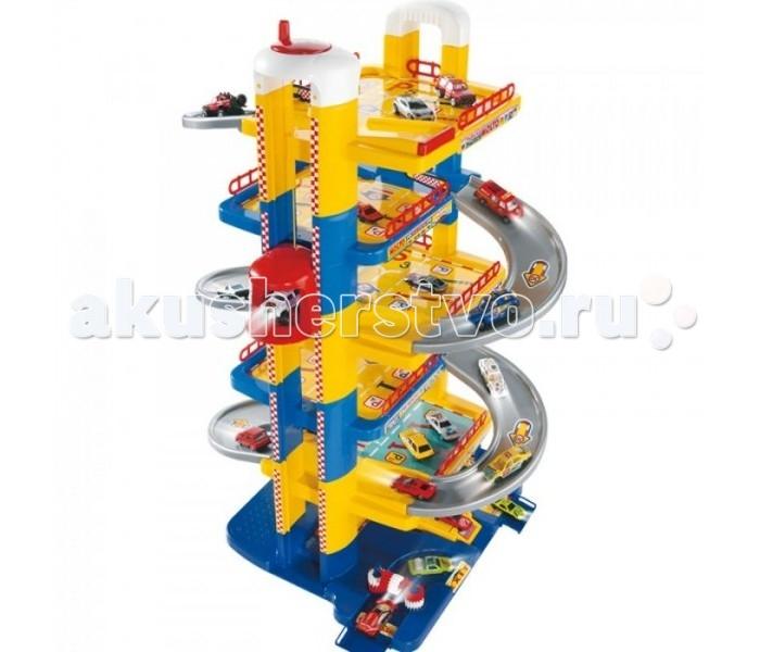 Molto Парковка 6 уровней 5414Парковка 6 уровней 5414Molto Парковка 6 уровней очень прочная и стойкая, порадует любого мальчика. В паркинг входит просторный лифт, автомойка, заправка, станция технического обслуживания и множество аксессуаров. Лифт работает от механического привода. На просторных уровнях можно разместить множество автомобилей. Конструкция сбалансирована. Она является объемной, но в то же время устойчивой и прочной. Крупные спуски, элементы лифта, а также стойки и уровни быстро стыкуются. Паркинг легкий в сборке. Все элементы набора изготовлены из безопасных и экологически чистых материалов и отвечают самым строгим требованиям безопасности.   Во время игры ребенок сможет развивать ловкость и слаженность движений рук, сноровку и координацию, мелкую моторику пальцев рук, будет двигаться и фантазировать. Яркий парковочный комплекс обязательно понравится всем маленьким любителям автомобилей.  В комплект входит: шестиуровневый паркинг с лифтом, автозаправкой, автомойкой, станцией технического обслуживания аксессуары Размер в собранном виде: 58 х 44,5 х 84 см<br>